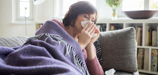 أعراض البرد