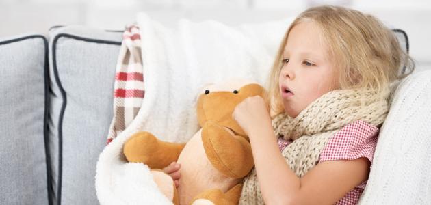 علاج الرشح للأطفال