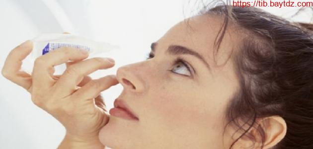 علاج جفاف العين طبيعيا