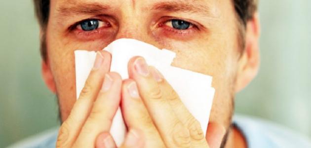 علاج سيلان الأنف ودموع العين
