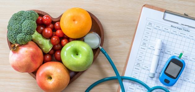 غذاء مرض السكر الصحي