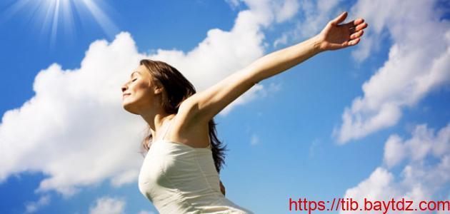 فوائد أشعة الشمس للجسم